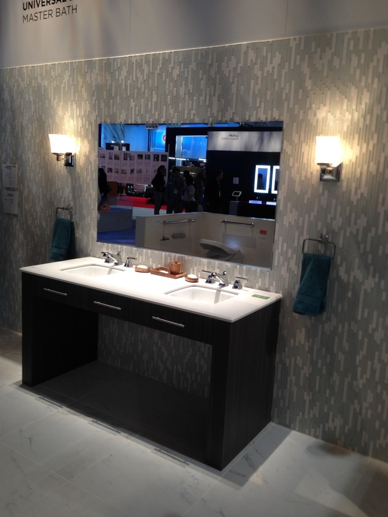 Kitchen and bath industry show innovative concepts 2014 - Bathroom remodeling las vegas nv ...