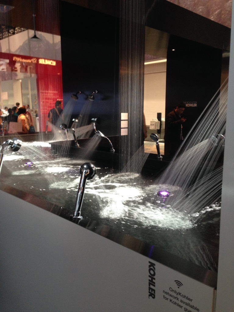 Kitchen and bath industry show innovative concepts 2014 for Las vegas kitchen and bath show