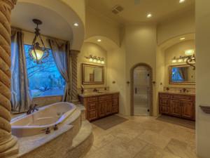 luxury master bathroom remodel in scottsdale az
