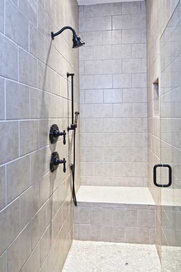 bathroom shower remodeling project