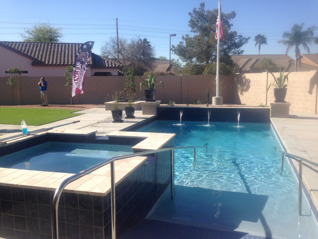 Custom Swimming Pool Construction Scottsdale Phoenix Az