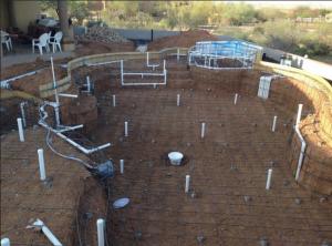 Custom Swimming Pool Construction Scottsdale Phoenix Az
