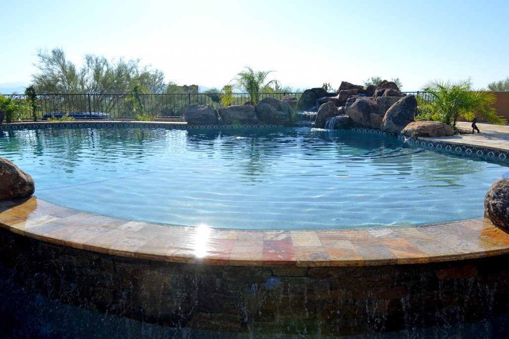 Custom swimming pool construction in scottsdale arizona for Swimming pool construction company
