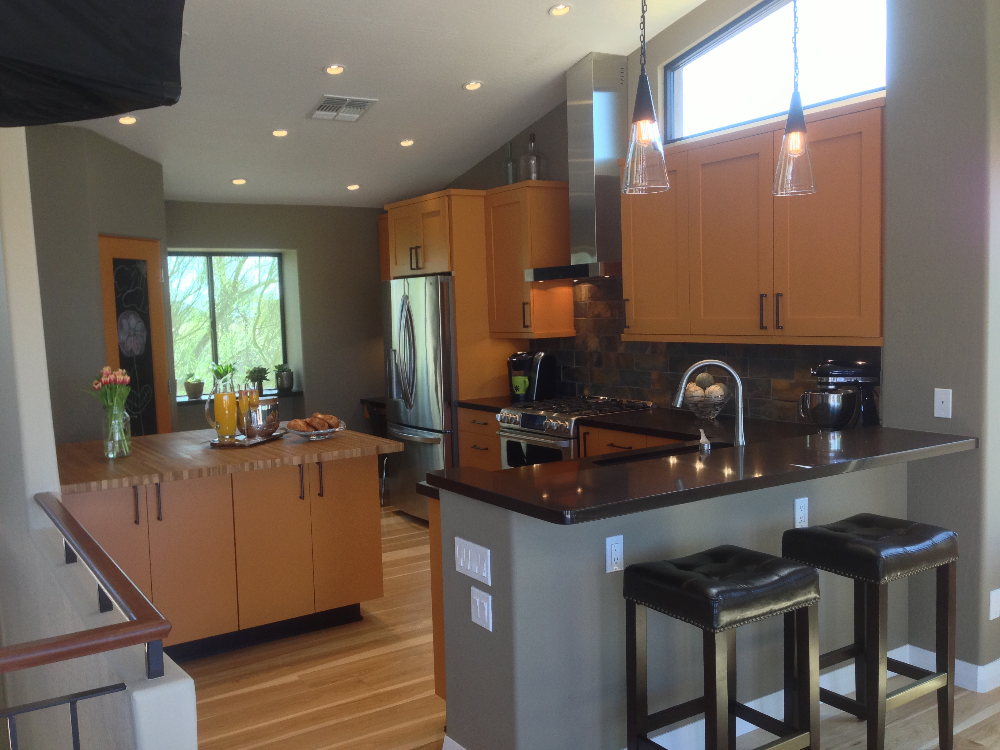 for black scottsdale remodeling granite popular cost kitchen in of countertops installed
