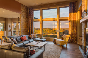 Carefree living room remodel
