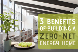 building a Zero-Net energy home