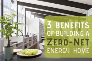 building a Zero-Net energy home