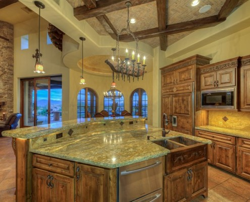 custom built kitchens in scottsdale