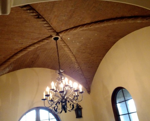 custom ceiling masonry design scottsdale az