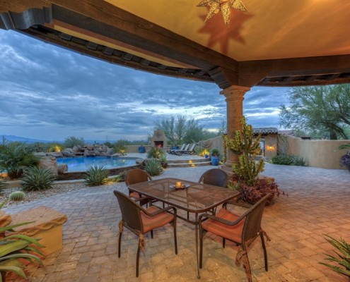 custom outdoor builders in scottsdale arizona
