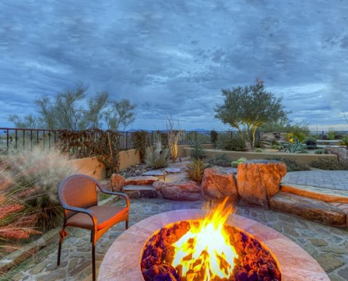 luxury backyard contractors in scottsdale