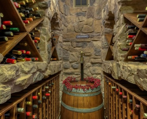 luxury custom wine cellar design scottsdale az