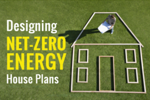 Net Zero Energy House Plans