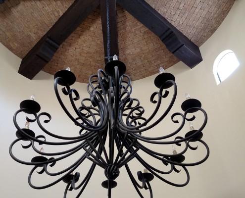 scottsdale custom built home ceiling design