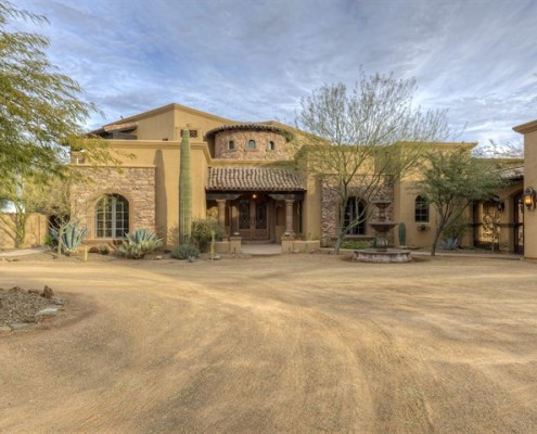 scottsdale luxury home building contractor