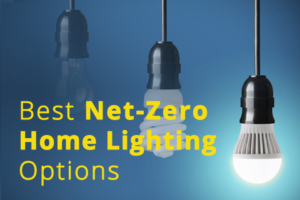 Net-Zero Energy Home Lighting Installation