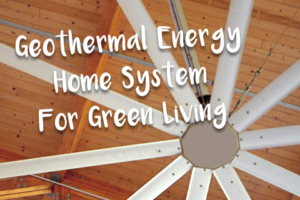 Geothermal Energy Home System