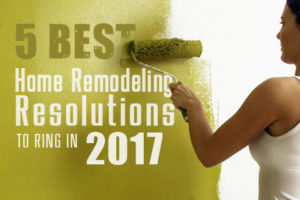Home Remodeling Resolutions