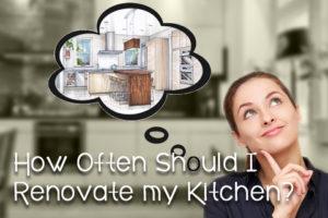 How often should I renovate my kitchen