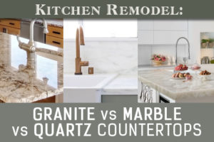 granite vs. marble vs. quartz countertops