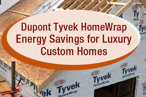 Dupont Tyvek HomeWrap Energy Savings