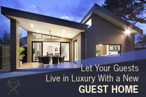 New luxury guest home
