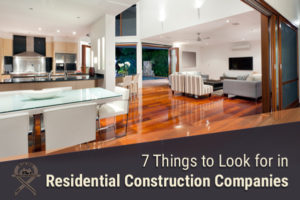 7 things to look for in Scottsdale residential construction companies
