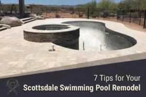 scottsdale arizona swimming pool remodel